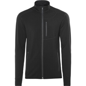 Icebreaker Descender LS Zip Jacket Herre black/black